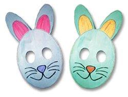 Pascua  Manualidad M  Scara De Conejo
