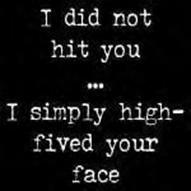 [high+five]