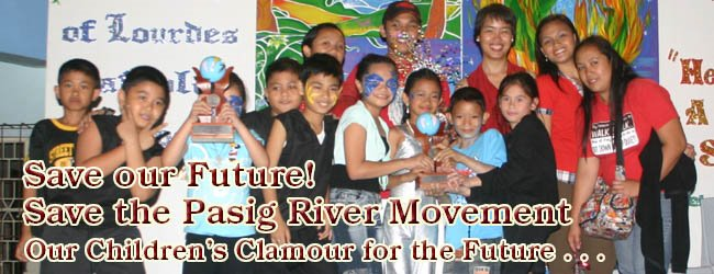 SAVE THE PASIG RIVER MOVEMENT