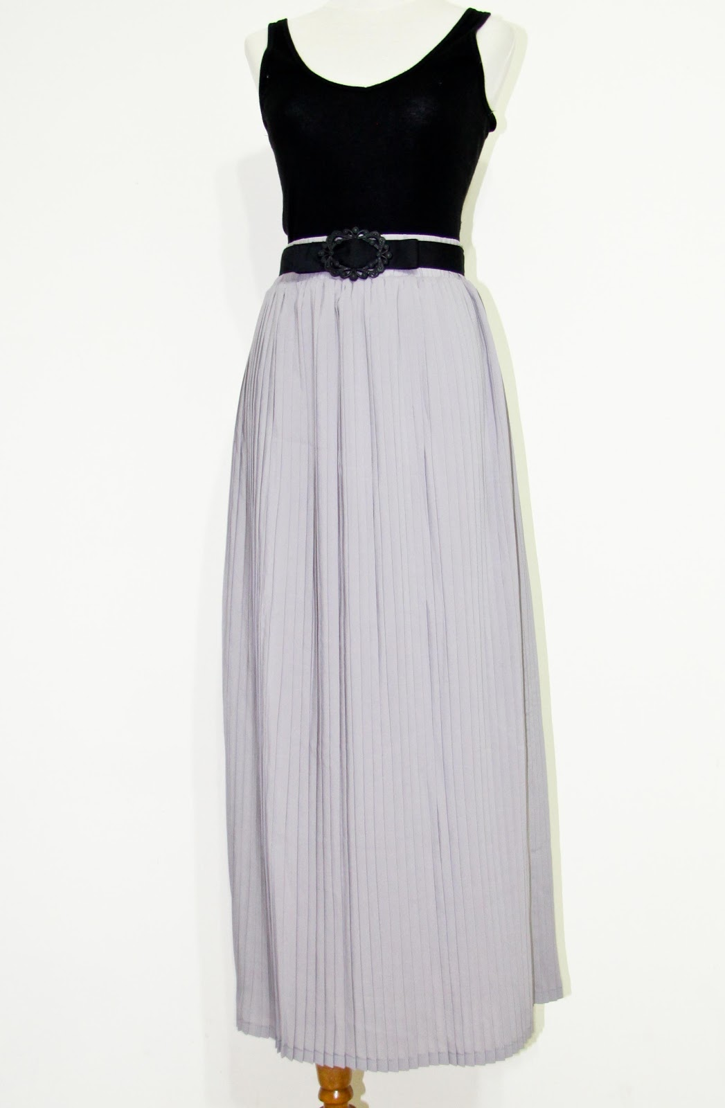 slurp it maxi pleated skirts