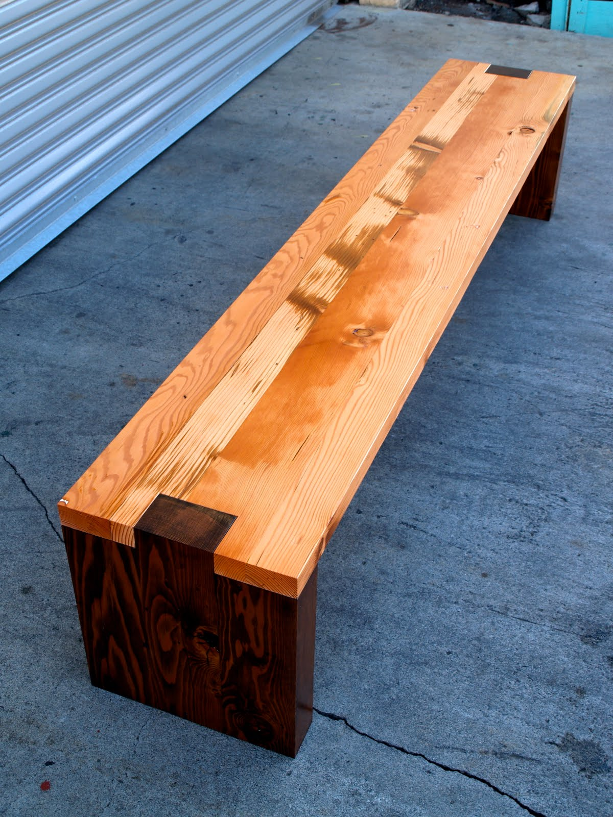 Forward Thinking Furniture Bench Planter Boxes