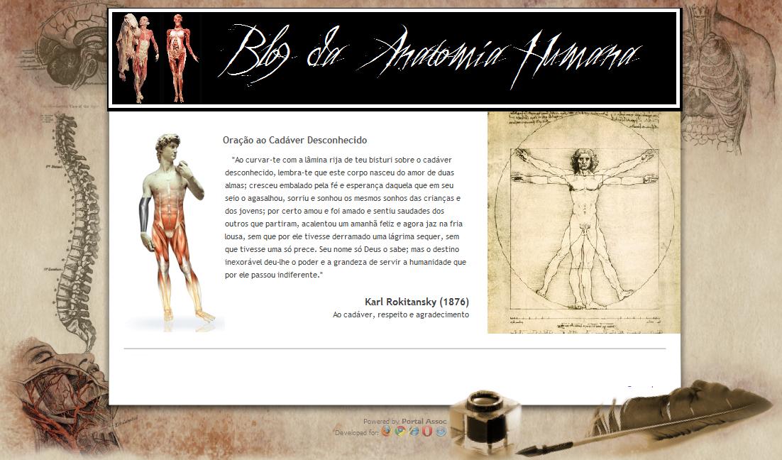 Blog da Anatomia Humana