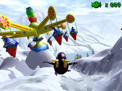 jogo Extreme Tux Racer PC