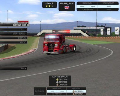 Renault Truck Racing games wallpaper