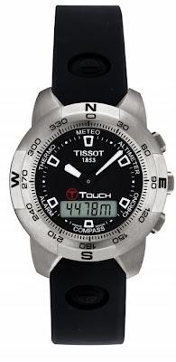 relogio Tissot T-Touch toque visor sensivel