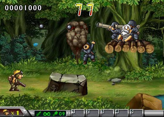 jogo Metal Slug Special Mission