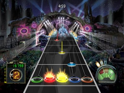 Frets on Fire rock band jogos