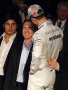 Algunas fotos graciosas en la F1. (â¿amor de hermanos jejeje)