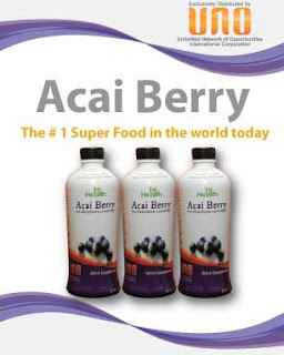 UNO PRODUCTS: Acai Berry Juice