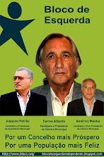 Cartaz BE Alcanena Autárquicas 2009