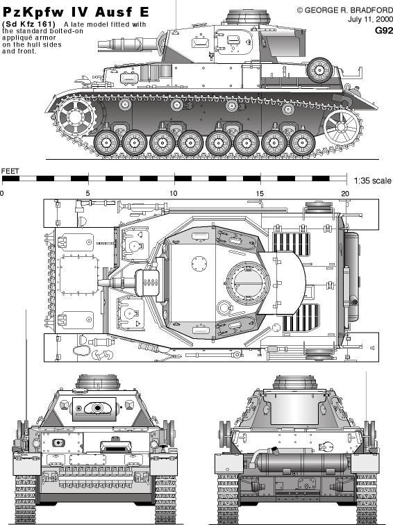 AFV PLANS / AFV Blueprints / Tank Plans / Tank Blueprints: 1:35 ...