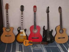 Guitarras de la familia