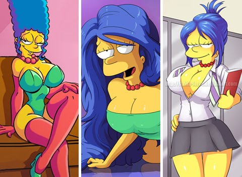 Marge Simpson Pelada Na Pl
