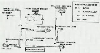 the care and feeding of ponies fog light wiring rh thecareandfeedingofponies blogspot com 1964 Mustang Tail Light Wiring Diagram 1965 Mustang Radio Wiring Diagram