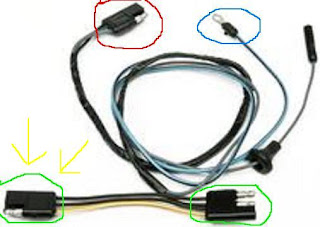 the care and feeding of ponies fog light wiring rh thecareandfeedingofponies blogspot com 1965 Mustang Color Wiring Diagram 1965 Ford Mustang Wiring Diagram