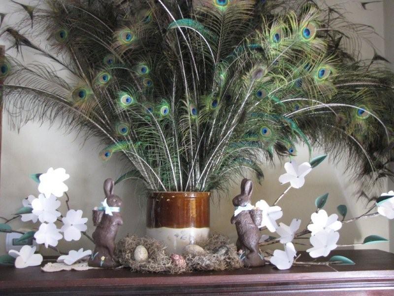 Martha stewart paper flowers easter decor