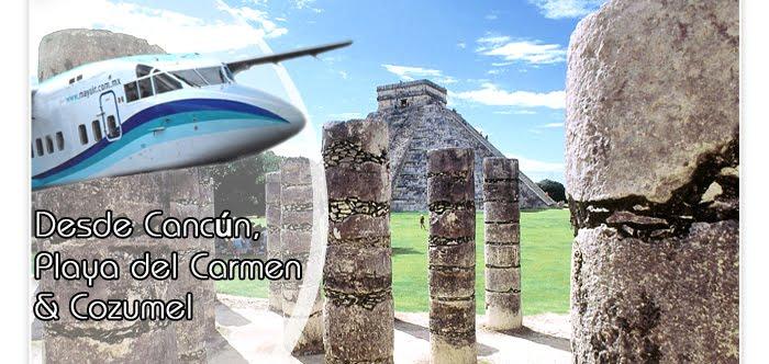 avion playa del Carmen cozumel