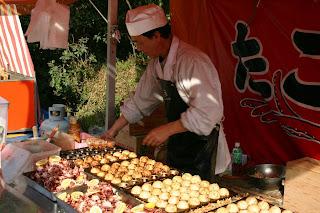 Takoyaki Street vendor