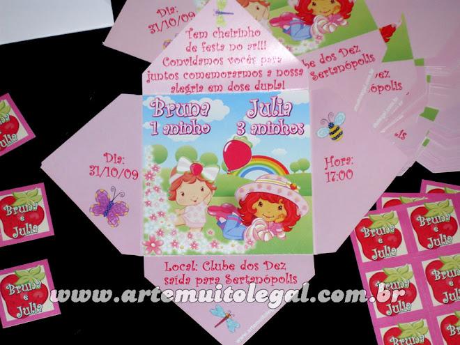 rte muito legal - Convites infantis e lembrancinhas de aniversário