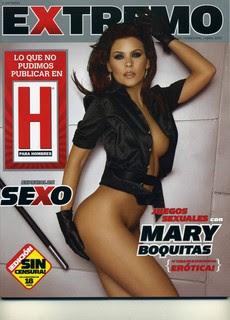 Mary Boquitas Desnuda