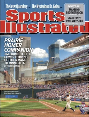 Jim Thome on the cover of Sports Illustrated
