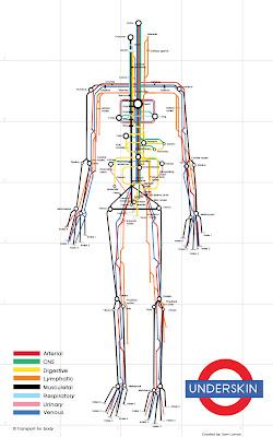 Underskin: The Human Subway Map