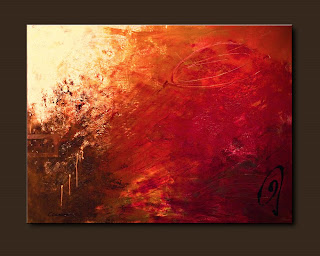 Vision Painting-Cellist's Dream-Abstract Art Paintings by Carmen Guedez - Image