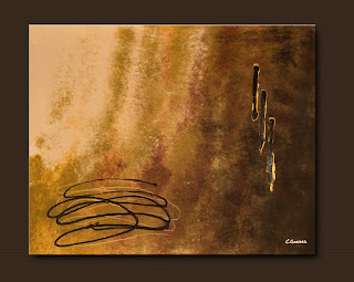 Vision Painting-Reflexion-Abstract Art Paintings by Carmen Guedez - Image