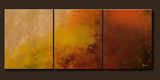 Vision Painting-Sunshine-Abstract Art Paintings by Carmen Guedez - Image