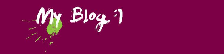 My Blog :)