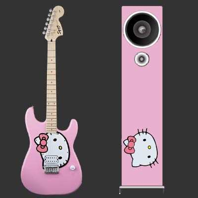 hello kitty gitarr