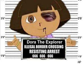 Dora the Explorer and Border Patrol