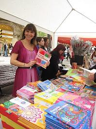 Firma de Libros De princesas en La DiaDa de Sant Jordi 2010