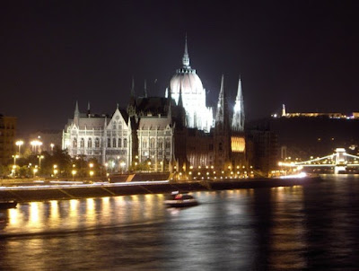 Pest: Parliament By Night