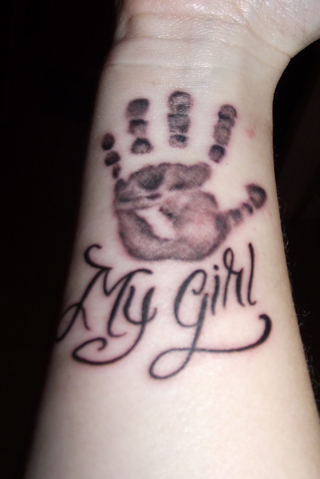 Baby Rachel S Legacy Handprints On My Heart