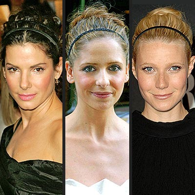 Hottest new celebrity hairstyle accessories – why not consider headbands