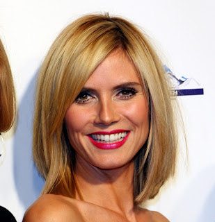 Honey Blonde Hairstyle – Heart shaped faces