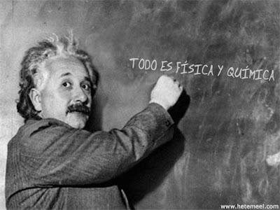 Einstein sí que sabe.