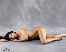 Kim Kardashian, desnuda y sin retoques
