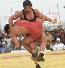 Wrestler-Sushil