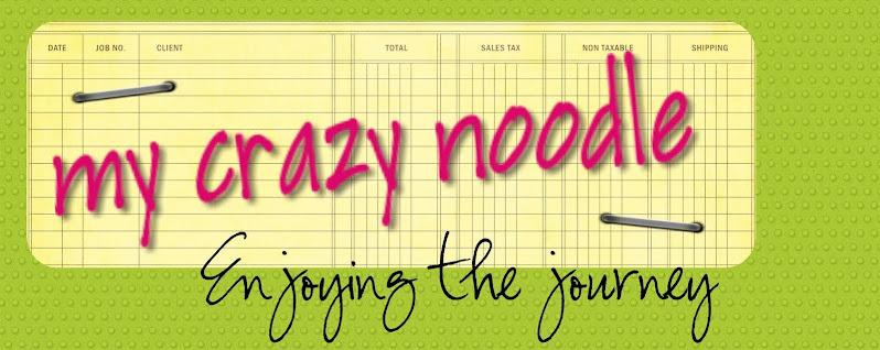 my crazy noodle