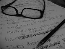Gestando el pensamiento, alumbrando las primeras lienas, esparando la poesia..