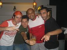 DJ`s Jonatas, Juan Piero, Akeen e Chris Souldeep