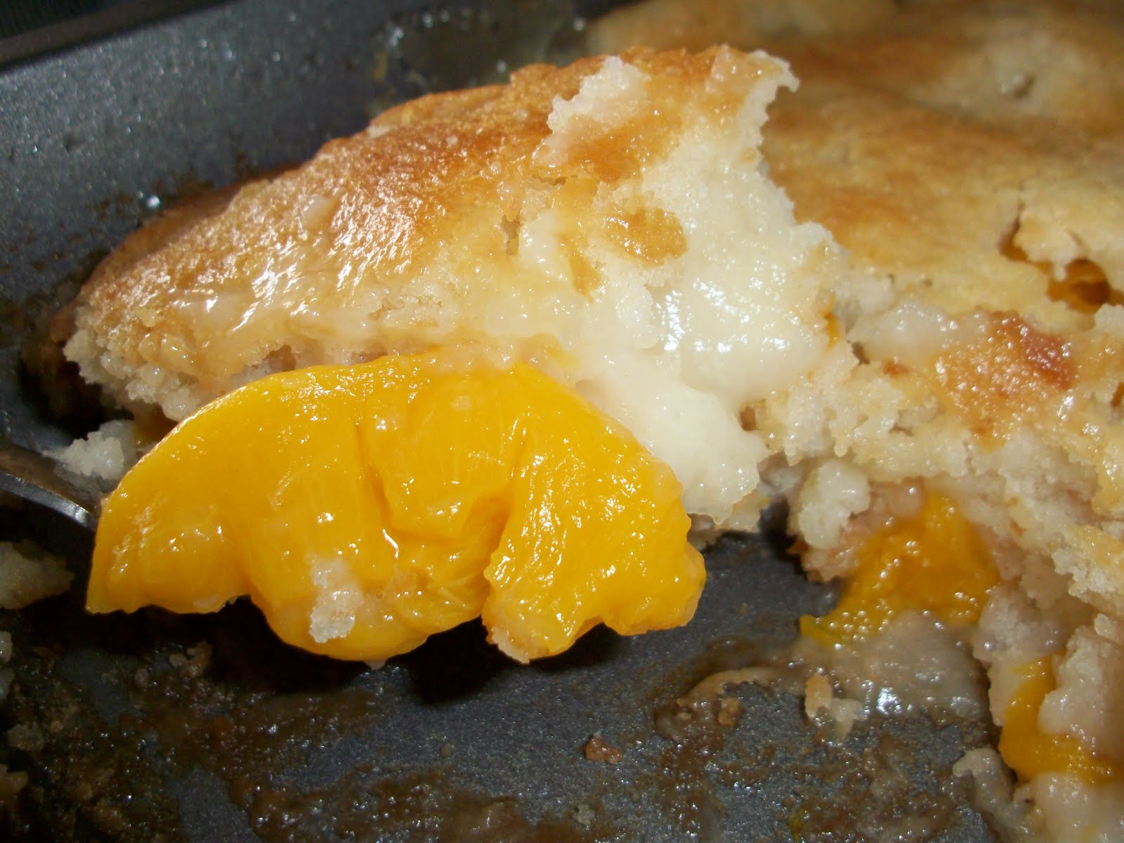 Lark's Country Heart: Old Fashion Peach Cobbler