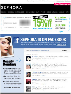 Click to view this Apr. 16, 2010 Sephora email full-sized