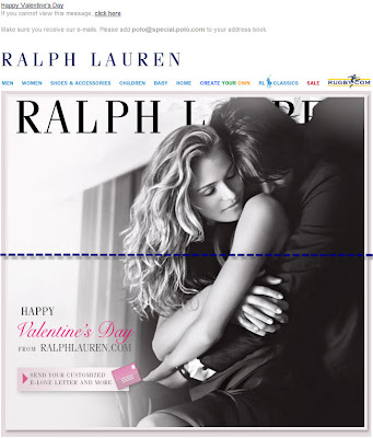 Click to view this Feb. 14, 2009 Ralph Lauren email full-sized