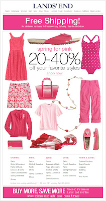 Click to view this Apr. 27, 2009 Lands' End email full-sized