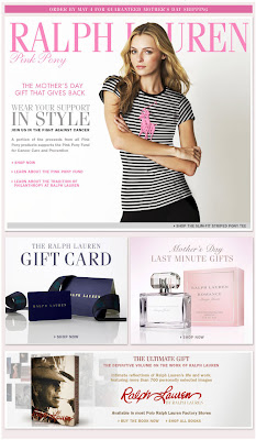Click to view this Apr. 27, 2009 Ralph Lauren email full-sized