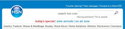 Click to view this June 20, 2009 HSN email full-sized