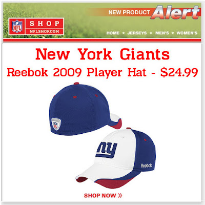 Click to view this July 17, 2009 NFLshop email full-sized